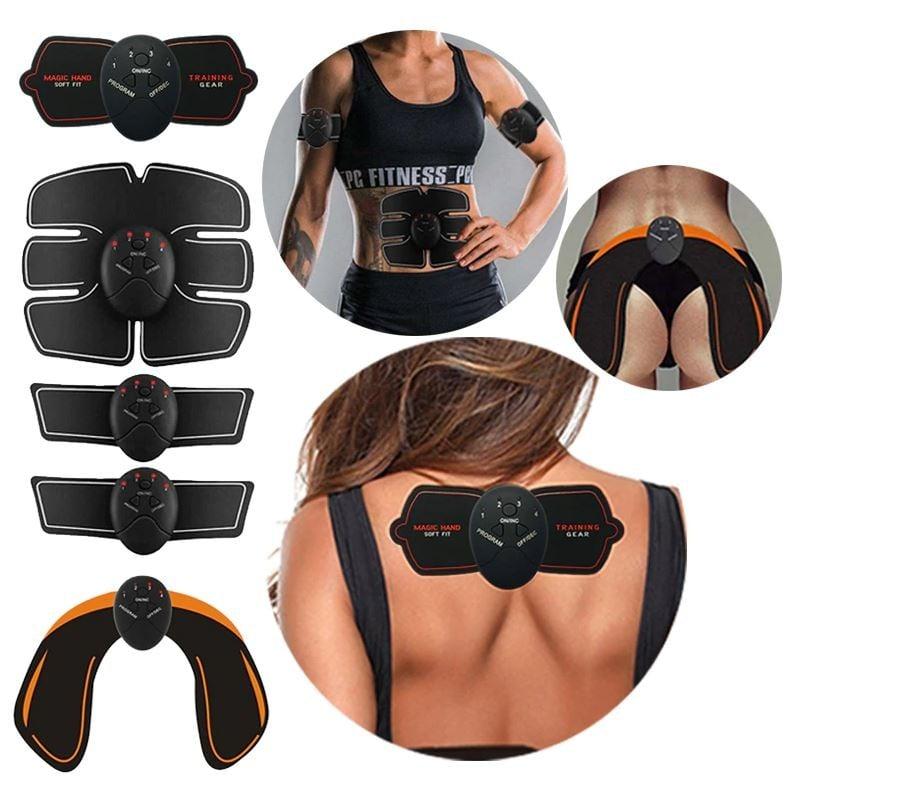 Σετ 5 σε 1 μηχάνημα εκγύμνασης κοιλιακών Smart Fitness Series EMS ...